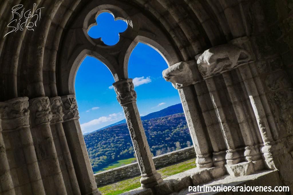A través del Arco de San Vicente
