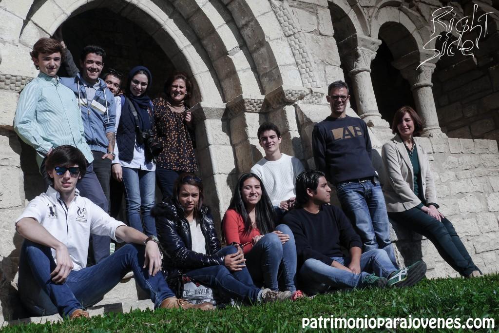 POrticadas grupo en San ESteban