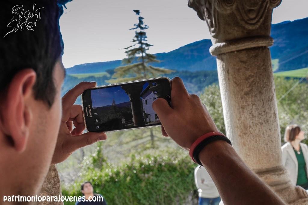 Una foto con el móvil