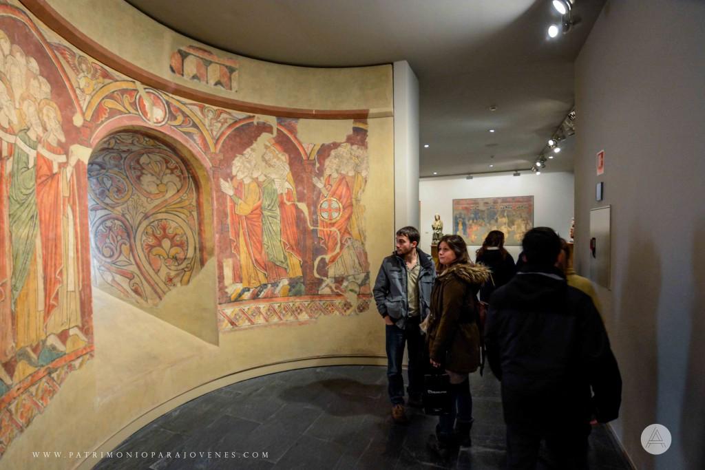 MuseoNavarra-Ante pinturas de Artaiz