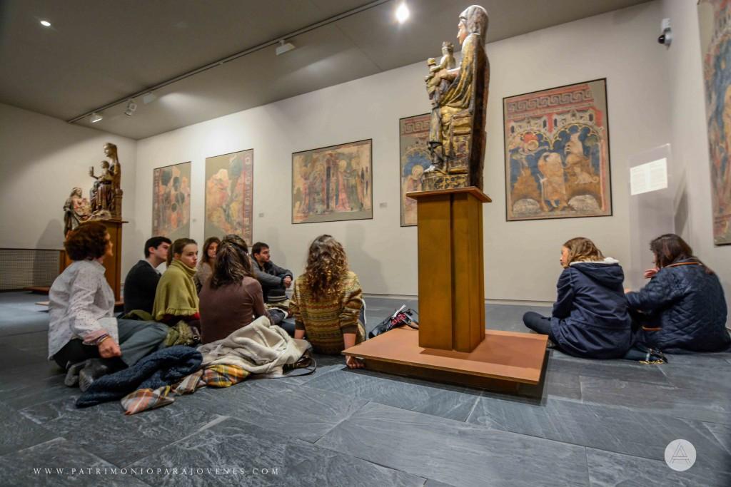 MuseoNavarra-Ante pinturas de la capilla Virgen del Campanal PPJ-2