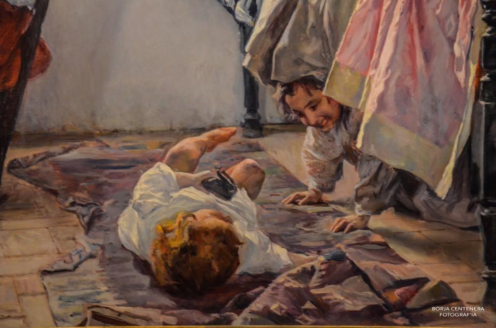 Deatlle de una pintura