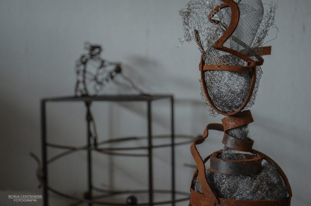 Detalle de escultura