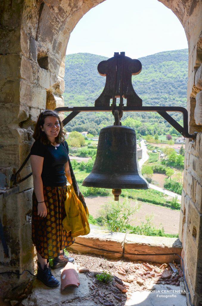 Chrissy en el campanario
