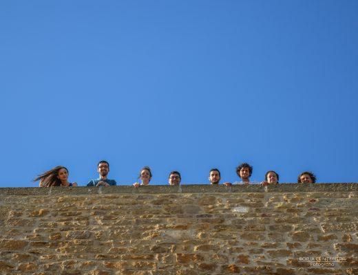Arellano, cabecitas en la torre