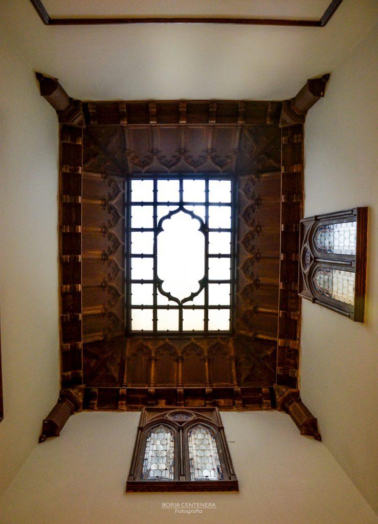 Dicastillo, vista del techo