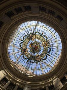 Cupula del Banco de España de Bilbao