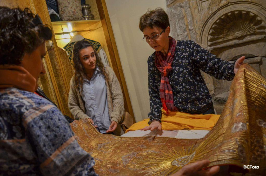 En el Museo de la parroquia de Pitillas