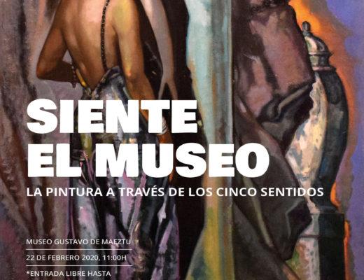 Cartel diseñado por Clara Frago Daza para el evento Siente el Museo